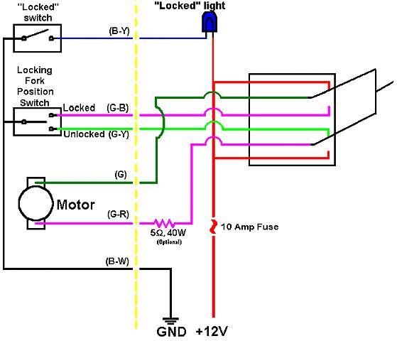 Fzj80 Rear Locker Wiring