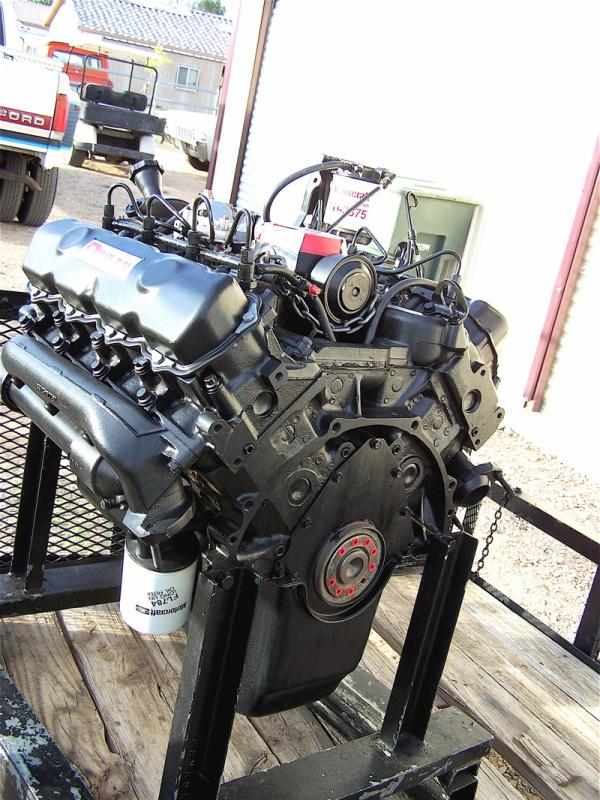 Ford 7 3 Idi Drop In Engine Complete 88 92 F250 F350 For 2600