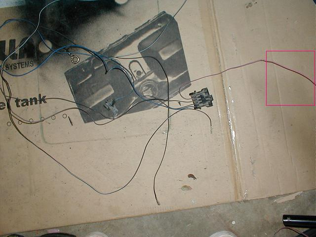 working a stock tbi harness for conversions picture intensive attached images