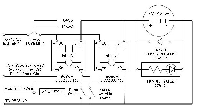 Lincoln Mark VIII electric fan Pirate4x4Com 4x4 and OffRoad – Lincoln 98 Mark 8 Fuse Diagram