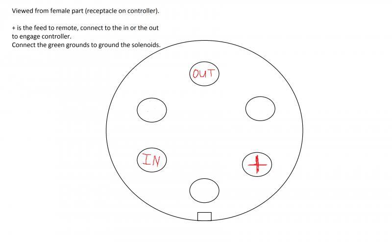 warn 5 wire winch controller schematic