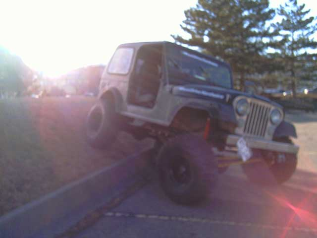 Pics of cj/yj/tj with full size axles please