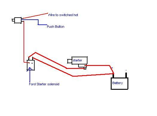 Push Button Starter Switch Wiring Diagram on start stop station wiring diagram