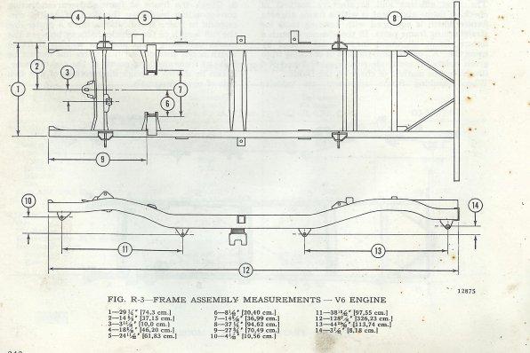 Yj frame dimensions page 4 frame design reviews for Bessette motors carrington nd