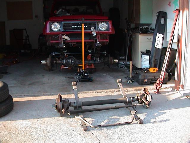 Samurai Front Axle Assembly : Best way to make wd samurai page pirate