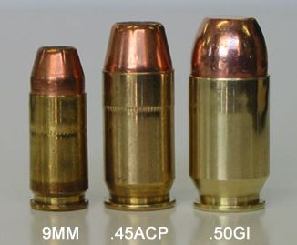 Hi-powered 1911 - Coonan  357 magnum vs  Dan Wesson 10mm