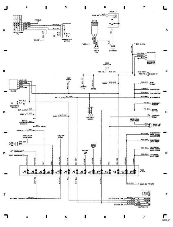 1987 suzuki samurai tail light wiring diagram
