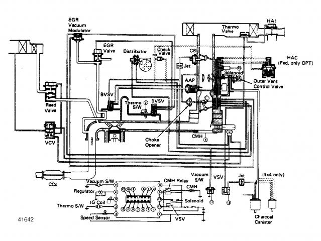 88 calif toyota 22re engine diagram  u2022 wiring diagram for free