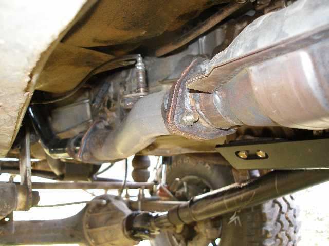 Toyota Pickup Cat Back Exhaust