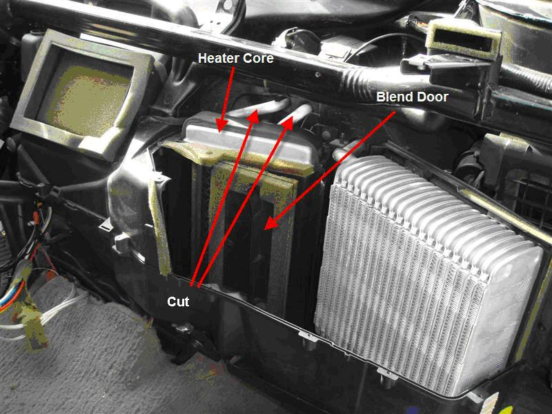 Cost/duration of heater core replacement? - Page 3