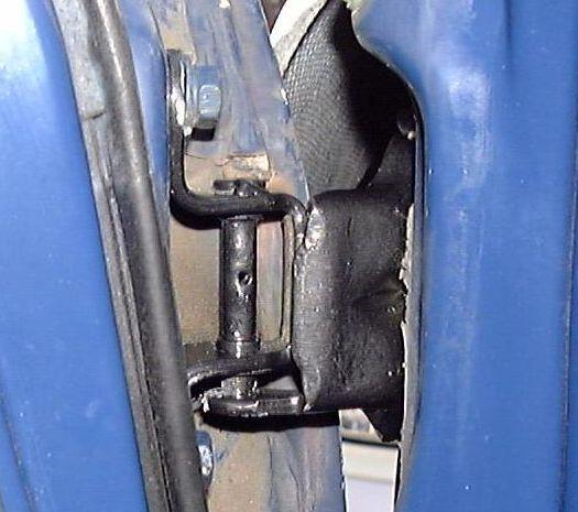 modified quick release toyota door hinge