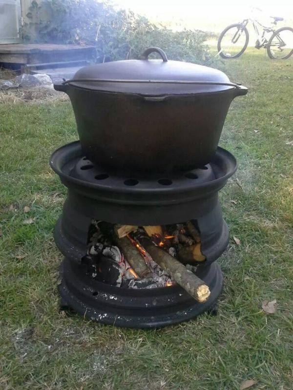 - 55 Gallon Drum For Wood Stove - Pirate4x4.Com : 4x4 And Off-Road Forum