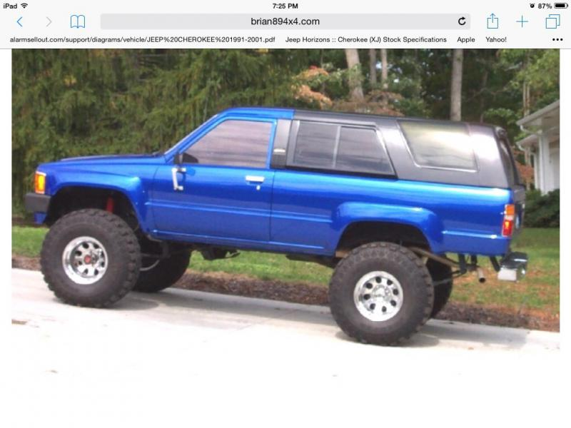 1980s toyota blue paint code 8a1 pirate4x4 com 4x4 and off road forum. Black Bedroom Furniture Sets. Home Design Ideas