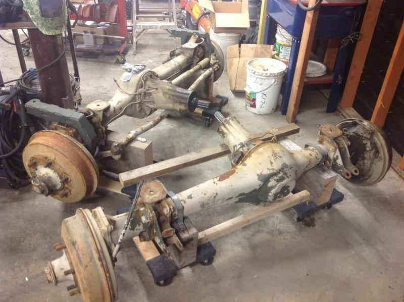 Unimog 416 For Sale >> Unimog axles for sale - Pirate4x4.Com : 4x4 and Off-Road Forum
