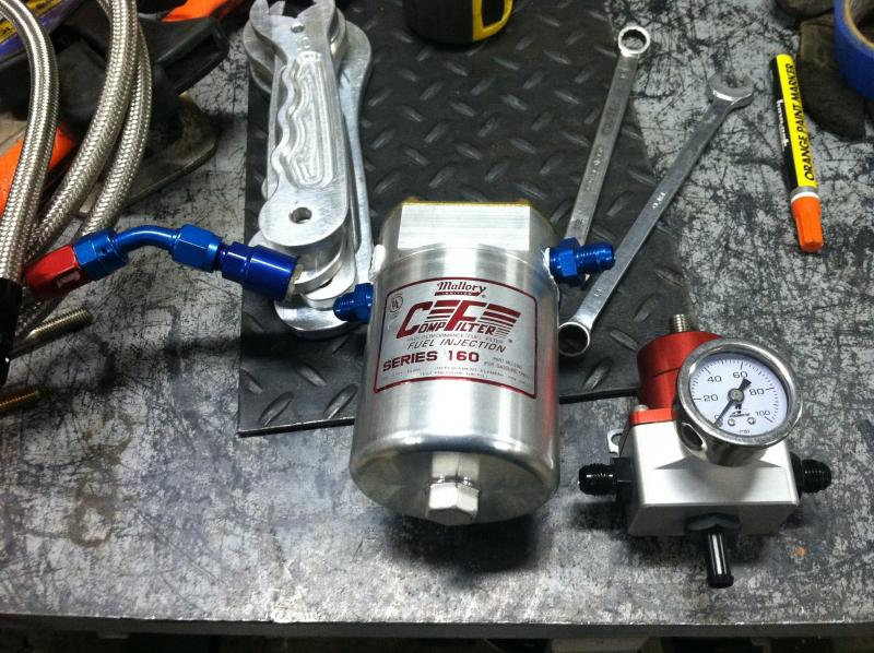 Mallory EFI fuel filter question   Pirate 4x4Pirate 4x4