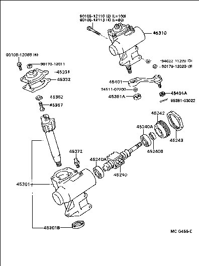 power steering leak pirate4x4 4x4 and off road forum 2006 Toyota Tacoma Power Steering Diagram attached images