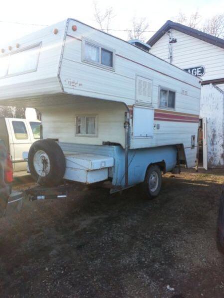 Anybody have a camper in a truck box trailer? - Pirate4x4