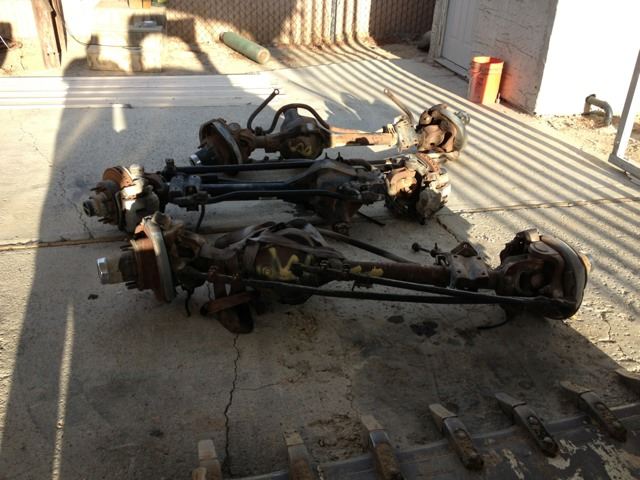 Ford Dana 60 Front Axle