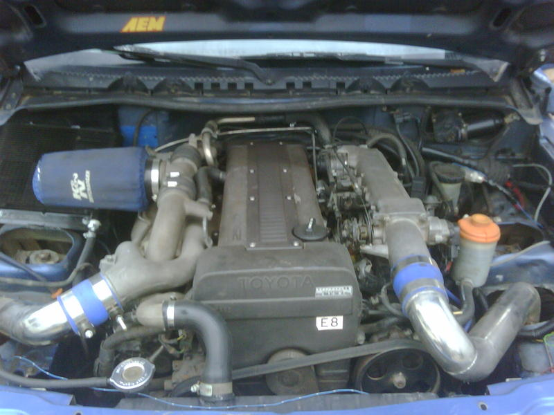 pictures of your motor swaps. - page 3 - pirate4x4 : 4x4 and
