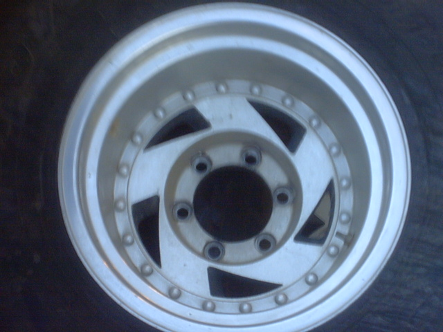 Off Road Rims And Tires Package >> 15x12 6 lug aluminum wheels $200 - Pirate4x4.Com : 4x4 and Off-Road Forum