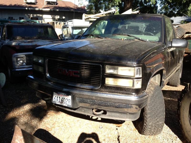 1997 k1500 4x4 transmission