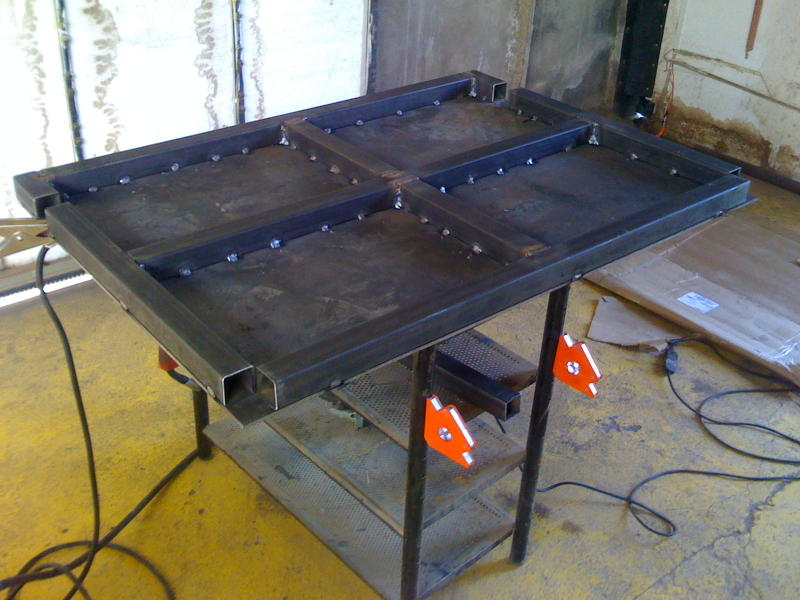 Welding Table Designs channel ironwelding table archive weld talk message boards Attached Images