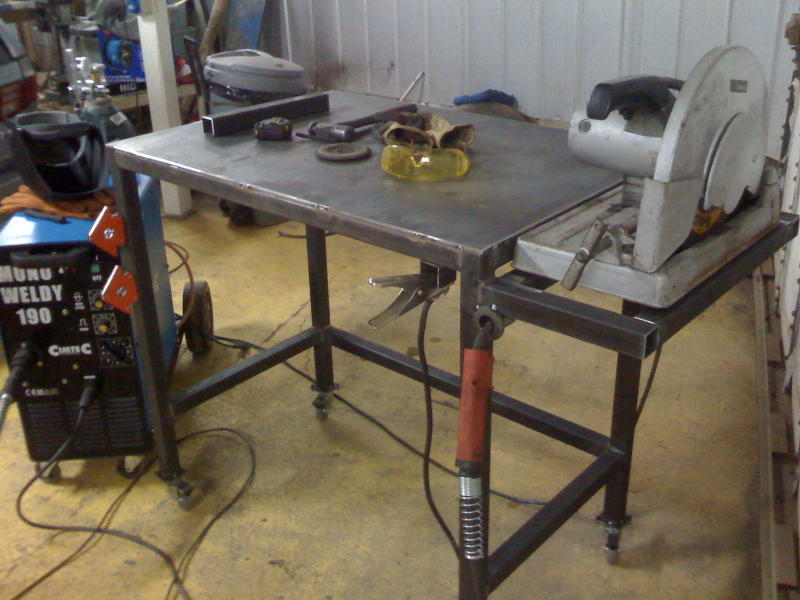 Welding Table Designs welding table build 20160224_112757 1280x720 jpg Lets See Your Welding Tables Pirate4x4com 4x4 And Off Road Forum