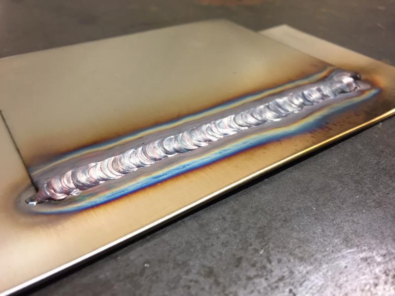Tig welding stainless steel