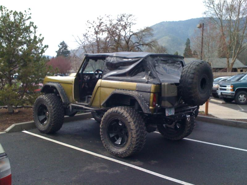 Tires For Cheap >> 46 or larger tires on an Early Bronco? - Pirate4x4.Com : 4x4 and Off-Road Forum