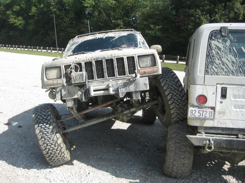 XJ/MJ's front view on full width (PICS) - Pirate4x4 Com : 4x4 and
