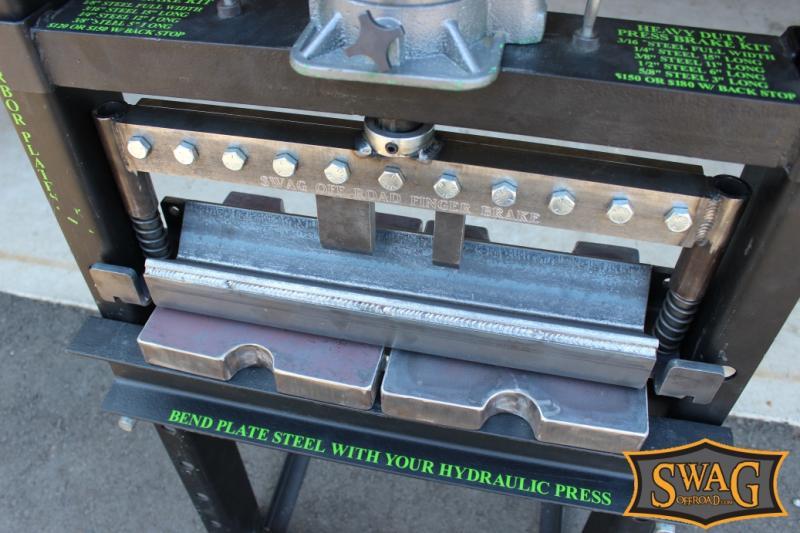 SWAG 12 TON Press Brake DIY Builder Kit