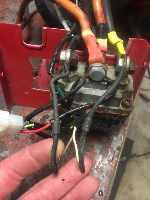 New Style Winch Solenoid Replacement Contactor