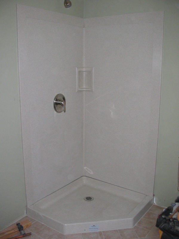 Swanstone shower walls - Pirate4x4.Com : 4x4 and Off-Road Forum