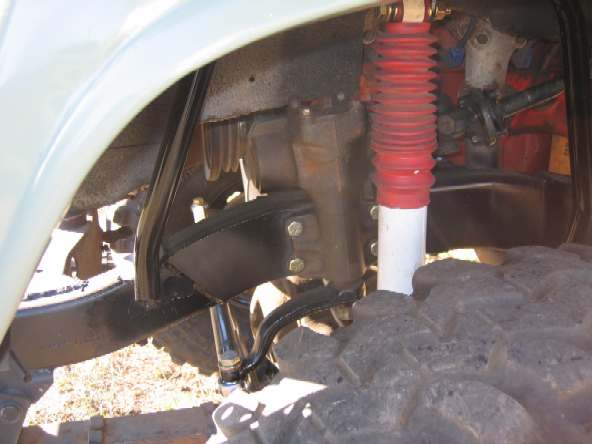 FJ55 Power Steering conversion using FJ60 parts