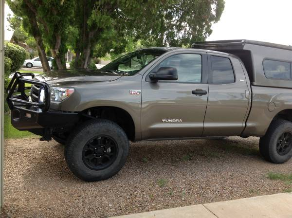 Carhartt Truck Seat Covers >> 2010 Built Toyota Tundra with Flippac camper / tent ...