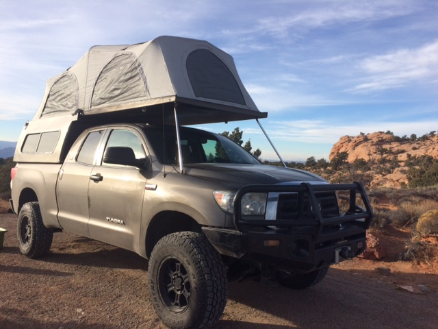 2010 Built Toyota Tundra with Flippac camper / tent ...