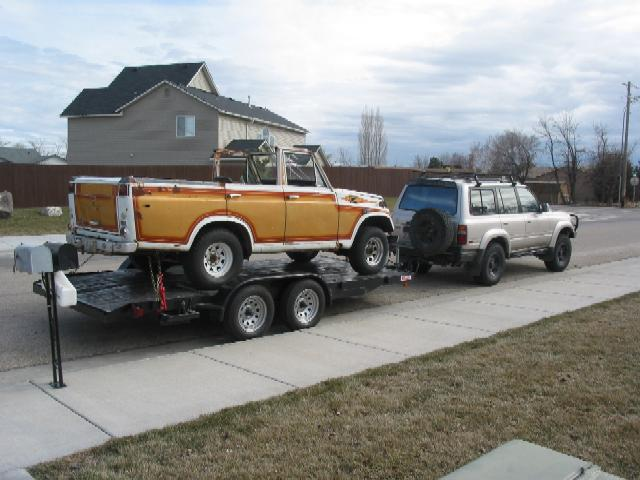 Flat Bed Trailers Car Haulers 4x4 And Off Road