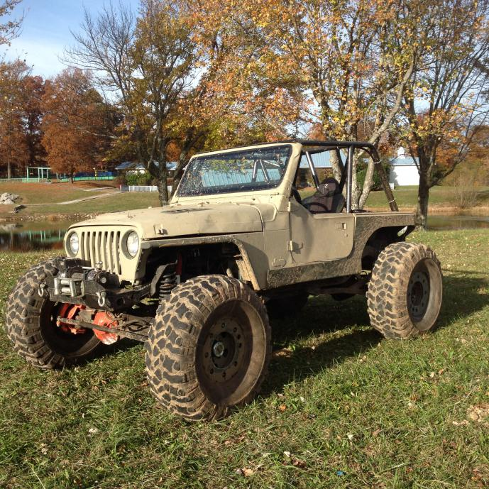 Jeep TJ frame, tub, full 6 pt cage - Pirate4x4.Com : 4x4 and Off ...