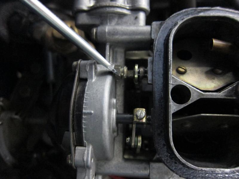 22r w/ rebuilt carb still sputters under acceleration
