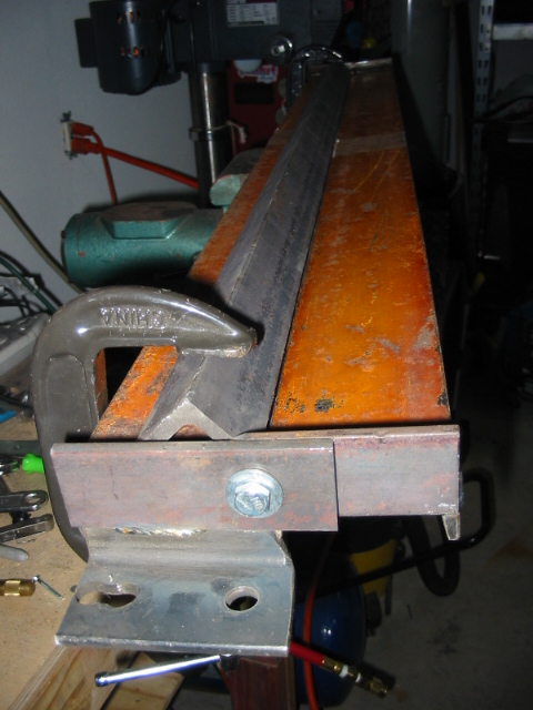 Home Made Sheet Metal Brake Pirate4x4 Com 4x4 And Off