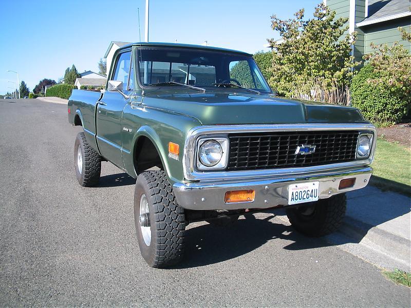 1972 Chevy Truck 4x4