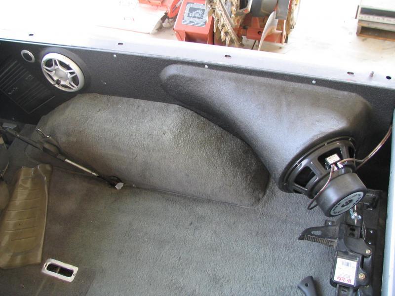 Full custom fiberglass interior K5 and Truck - Pirate4x4 ...