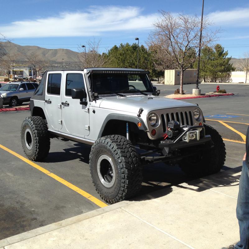 For Sale 2008 Jeep Wrangler Unlimited 4 Door: 2008 Jeep Wrangler Unlimited, BUILT 40's, Reno, Nv