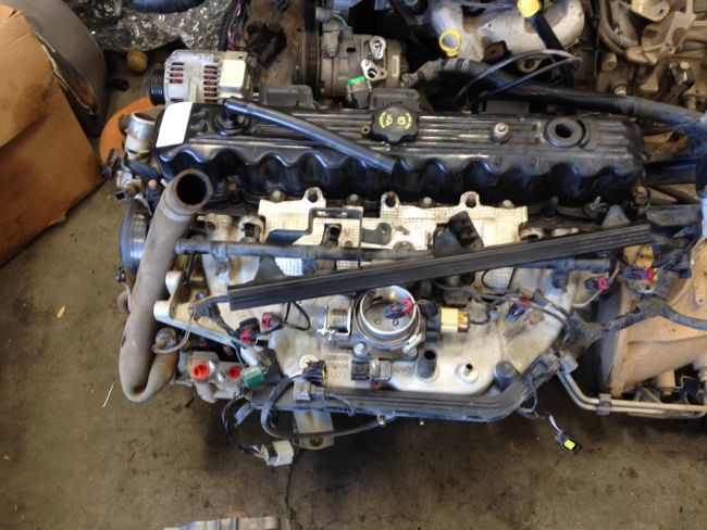 2005 Jeep TJ/LJ 4.0L engine 36K complete $2000 - Pirate4x4.Com : 4x4