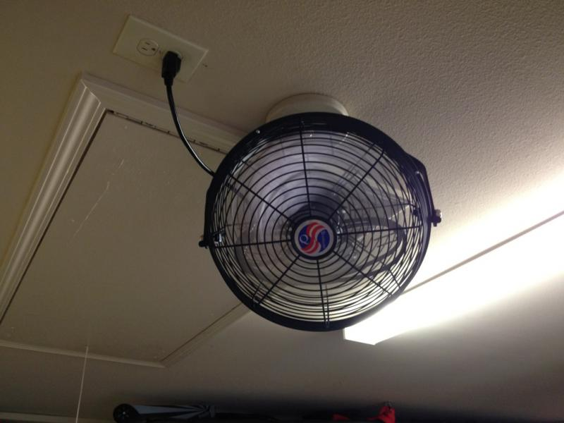 Residential Garage Ventilation Fan : Garage cooling ventilation system pirate