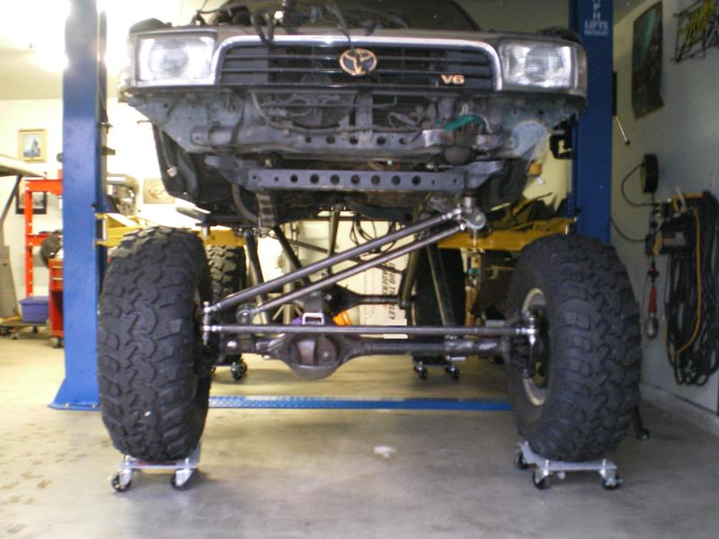 Build A Toyota >> 1995 4runner 3 Link Front And Rear Build Pirate4x4 Com 4x4 And