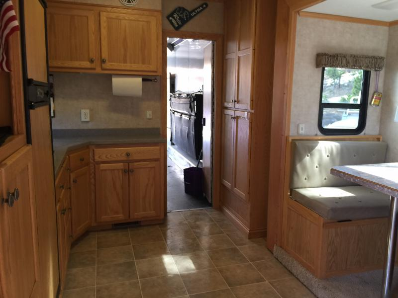 2008 Atc T8 50 Enclosed Race Trailer With Slide Out And