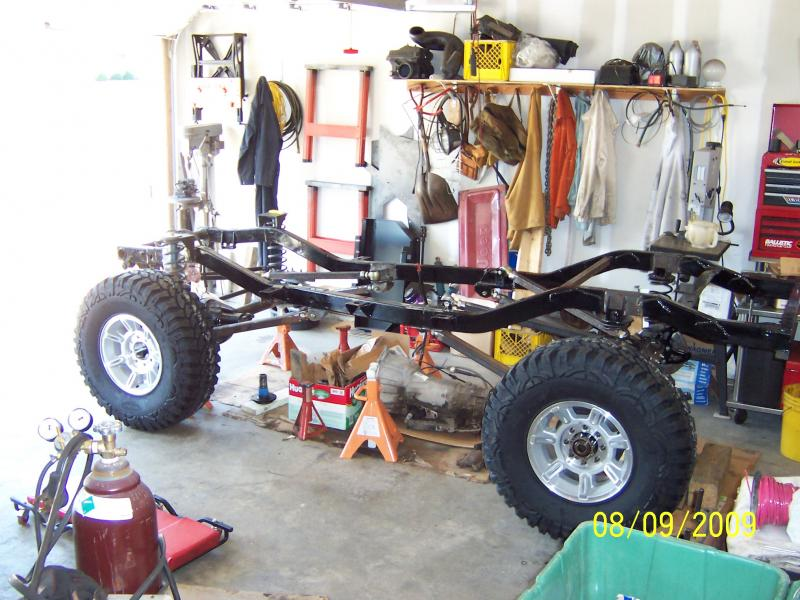 TJ Frame stretch to TJ Unlimited - Pirate4x4.Com : 4x4 and Off-Road ...