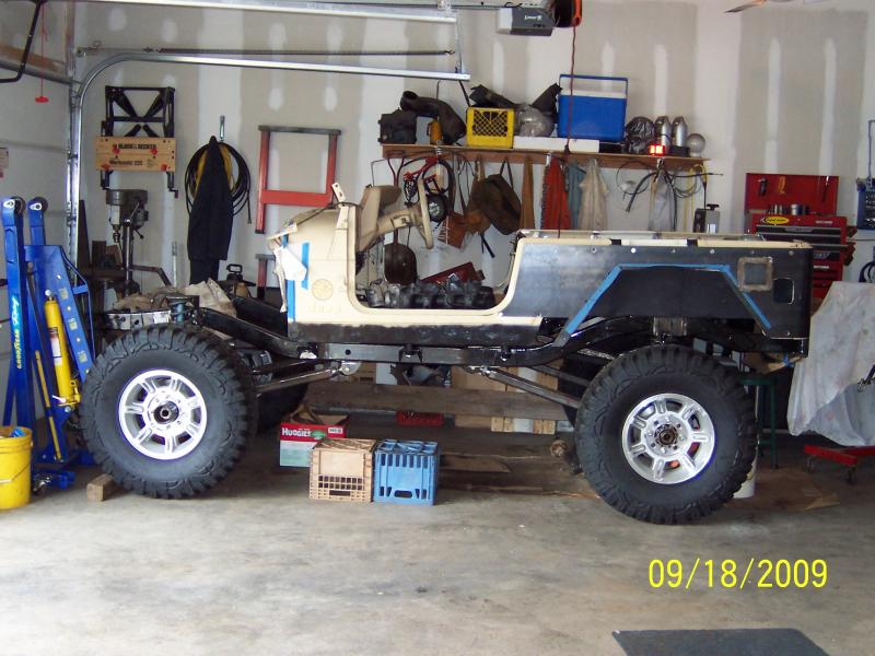 Jeep Wrangler Tj Build >> TJ Frame stretch to TJ Unlimited - Pirate4x4.Com : 4x4 and Off-Road Forum