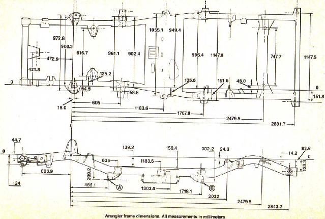 95 jeep yj wiring diagram fj40 frame specs/drawings? anyone? - pirate4x4.com : 4x4 ... #6